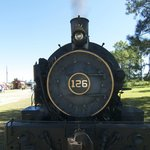 St Marys Railroad Steam Engine 10-5-2014