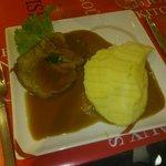 Le rôti de veau pommes mousseline