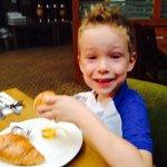 croissants for breakfast before chessington!