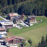 oben rechts sind die beiden Häuser