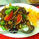 Roast duck Thai style salad (Yum ped grob)