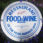 Best Wine Experience in Ireland 2014 at the Food & Wine Magazine Awards