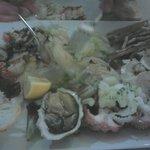 Meeresfrüchte-Vorspeisenplatte für zwei Personen
