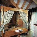 Il letto a baldacchino