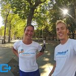 sightrunning with Robert in Madrid