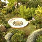 Tranquil garden view from balcony - Hotel Splendid