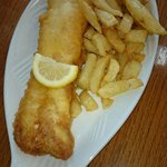 Nice fresh cod and chips