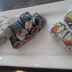 California, Tuna, and Alaska Rolls