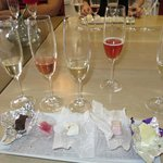 Wine and nougat paring