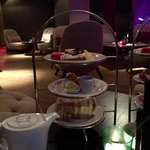 Afternoon tea in the Spa reception
