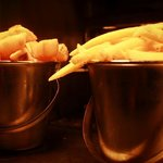 Chunky & Skinny chips avaliable at Harbourside