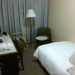 la camera, non troppo grande