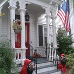 The Front Door to the Fabulous 1862 Seasons on Main