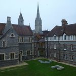 Salisbury Cathedral from bedroom