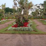 Torquay gardens near the seafront