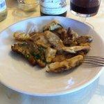 Porcini fritti e alla griglia