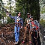 Hirschgrund zipline near schiltach