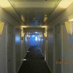 In the corridors