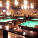 Plenty of pool tables