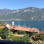 Lake Como and the Alps from our hotel room