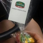 Upon check out we received free candy :)