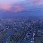 Heading over Albert Park