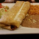 Vegetarian Chimichanga