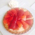 Très bonne tarte aux framboises