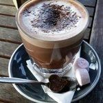 Hot chocolate- looks as good as it tastes