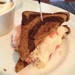 Half Reuben Sandwich