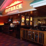 Front of Outback Steakhouse