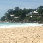 Looking at the hotel from Kata Noi Beach