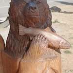 One more wood carving