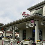 Best icecream parlor in southern indiana well worth the trip.... I am a returning customer for y