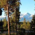 Mt. Elbert - view from the front porch of room 1A