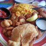 Flounder with Shrimp