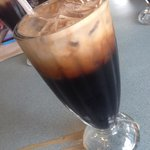 Thai iced coffee