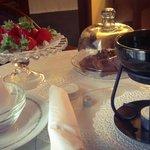 fonduta di cioccolato #massimoplazahotel
