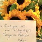 Fiori ricevuti da un cliente #massimoplazahotel