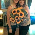 Jenny e Maria Grazia del ricevimento #massimoplazahotel