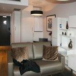Living area a bit cramped but OK.