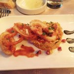 Entree Calamars Chorizo