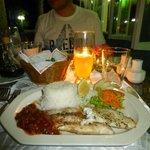 Abendessen im Capricorn