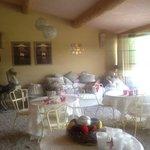 La petite véranda/salle à manger