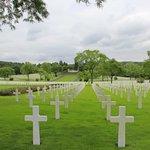 Lorraine American War Cemetery and memorial buildings