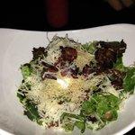Salade française Bacon et oeuf cuit dur! miam!