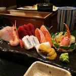 Their sashimi teishoku