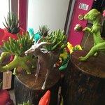 Funky Dino Planters