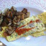 Western Omelette at Decatur Diner