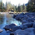 Wenatchee River at Pine Village KOA